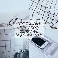 black and white Instagram feed VSCO filter HB1