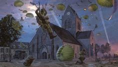 st-maire-eglise-new-release-by-simon-smith-3.gif (500×287) - simon smith