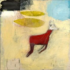 Charlotte Foust, Yearling, 18x 18 Mixed Media