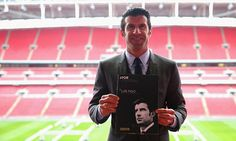 Luis Figo running against Sepp Blatter to be next FIFA President.... I'd vote for him