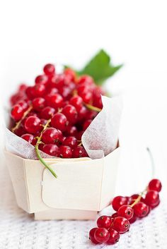 Red Currant is a type of berry that belongs to the gooseberry family. There are 3 currant varieties - red, black and white. Red currants are a bit more more acidic than black ones, yet somewhat sweet. They are rich in fiber, low in calories, full of antioxidants and a great source of vitamins and minerals. They can help boost immune system, reduce inflammation, purify blood, improve skin health and good for cardiovascular health.