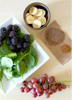 Blackberry Green Smoothie Recipe
