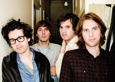phoenix. they're all kinda ugly. but in a good way. because they have great music. I'm sorry that was mean. I love them.