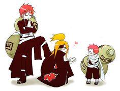 Gaara x Deidara 4 Lyf Anime Naruto, Naruto Comic, Naruto Shippuden Sasuke, Naruto Fan Art, Naruto Boys, Naruto Sasuke Sakura, Naruto Cute, Boruto, Anime Manga