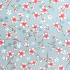 Pip cherry blossom light blue