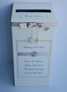Wedding Gift Post Boxes Uk : about Wedding Post Box on Pinterest Wedding Card Post Box, Wedding ...