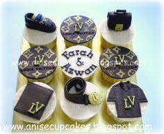 Anise Cupcakes: Louis Vuitton