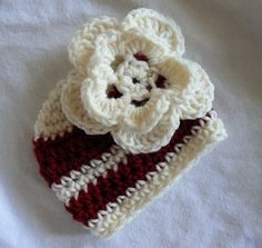 Baby's First Christmas Hat Newborn Infant Hat Baby Girl Christmas Beanie Ready on Etsy, $24.95