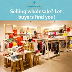 Are you thinking of selling wholesale? There's an easy ways for buyers to find YOU and your products instead of you chasing them. Here's how...