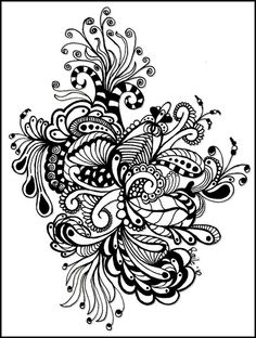 cool Zentangle art