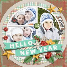 Hello New Year - Scrapbook.com