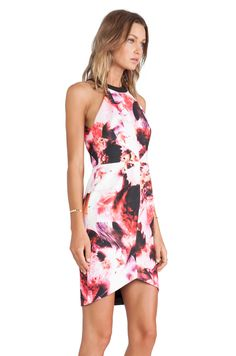 keepsake Adore You Dress in Abstract Floral Print | REVOLVE