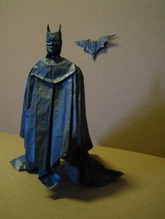 Artist Brian Chan, who made the Iron Man Origami featured on Neatorama a while ago, also created this super awesome Batman Origami.Take a look at his Origami page for more examples of his fantastic artwork: Link.