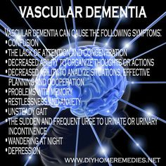A bunch of things to know about dementia Vascular dementia is a general term that describes problems with reasoning, planning, judgment, memory and other thought processes, caused by brain damage due to impaired blood flow to the brain. Low Carb Diets, Dementia Care, Alzheimer's And Dementia, Dementia Quotes, Vascular Dementia Stages, Leaky Gut, Pcos, Understanding Dementia, Lewy Body