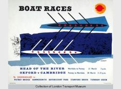 Boat Race Poster in 1959