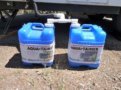 If one Aquatainer for Greywater is good then . A Frame Camper, Popup Camper, Diy Camper, Truck Camper, Rv Campers, Camper Trailers, Travel Trailers, Boler Trailer, Utility Trailer