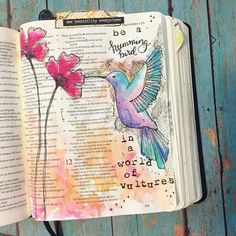 I saw this phrase journaled and it stuck with me. I literally could not shake the truth of the hummingbird/ vulture reference. The truth is simple at its core. Inventory what you're looking fo...