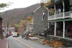 Harpers Ferry,....runaway slaves sought refuge in this West Virginia town where John Brown was captured.