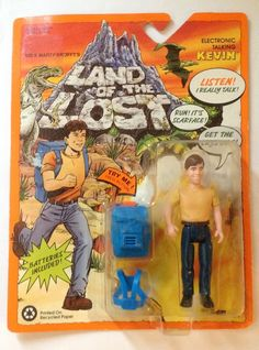"""Land of the Lost Electronic Talking Kevin 5"""" Action Figure #TigerToys"""