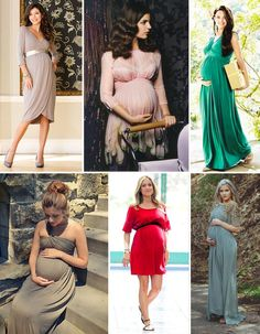 La invitada de boda perfecta y embarazada by Wedsiting