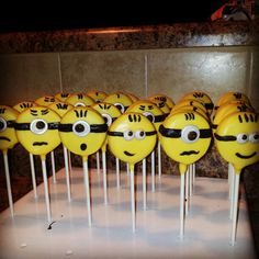My first oreo cookie pops Minions Facebook Sweetsandcrafts by Destiny