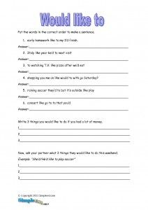 esl writing activities for intermediate