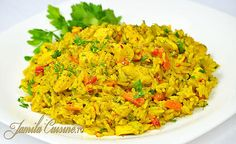 Romanian Food, Romanian Recipes, Asian Recipes, Ethnic Recipes, Party Dishes, Vegetable Recipes, Fried Rice, Risotto, Homemade