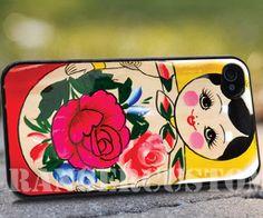 Russian doll matyroska iPhone 4/4s/5/5s/5c by rangercustommumet, $15.00
