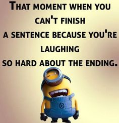 Funniest Minions Quotes On The Internet 406 ...um, what's that song, it goes woo, woo, woo? oh no, I'm Mutley-ing again, I can't breathe