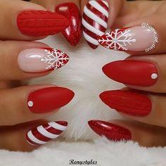 christmas nails acrylic, christmas nails winter nail designs, festive nail… – home acssesories Christmas Nails 2019, Xmas Nails, Holiday Nails, Holiday Candy, Christmas Nails Colors, Holiday Ideas, Spring Nails, Winter Nails, Summer Nails