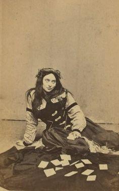 1800s fortune teller - she looks like Fiona