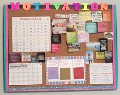 Motivation Board: To Help Get you Through the Tough Days - New Deko Sites Study Room Decor, Decoration Bedroom, Diy Room Decor, Cork Board Ideas For Bedroom, Diy Cork Board, Cork Boards, Goal Board, Study Board, Study Organization