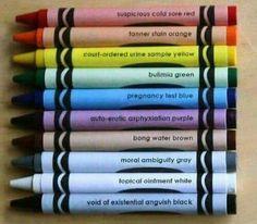 Medical Crayons