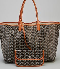 Goyard- St.Louis from San Francisco with monogram.