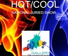 Gallery Underground in Arlington, Virginia, just outside Washington DC, invites all United States artists to enter its national juried show Hot / Cool.