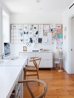 Linen covered cork board Spotlight On Lorraine Bonaventura Architect