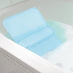 Amazon.com : Home Spa Bath Lumbar Cushion - Custom Back Comfort Relaxation In The Tub : Beauty