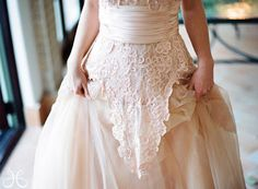 Vintage Alice in Wonderland Wedding Dress