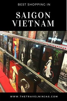 Discover the best shopping in Saigon Vietnam for gifts, souvenirs, and local bargains on clothes and accessories. Get away from the tourist-gouging souvenir shops. via @thetravelninjas