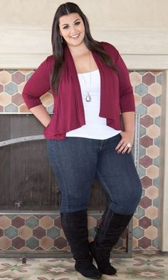 Plus Size Clothing | Plus Size Fashion | Curvy Styles at www.curvaliciousc... Sizes 1X-6X