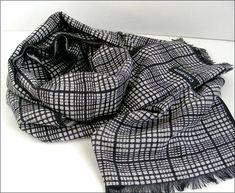 Black/White Cashmere man scarf/wrap Écharpe Homme Luxe Man Scarf, Scarfs, Scarf Wrap, Ties, Casual Shorts, Cashmere, Black And White, Luxury, My Style