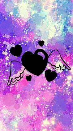 Angel heart galaxy wallpaper cute galaxy wallpaper, cute wallpaper for Cute Galaxy Wallpaper, Cute Girl Wallpaper, Cute Wallpaper For Phone, Cute Wallpaper Backgrounds, Screen Wallpaper, Cute Wallpapers, Iphone Wallpaper, Cellphone Wallpaper, Art Drawings