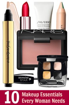 10 things every woman needs in their makeup wardrobe