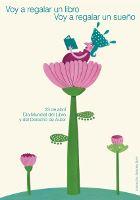 Cartel afiche Día del libro eu 2015 Gabriela Burin