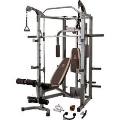 This would be perfect for me to use at home!!! Marcy Combo Smith Machine: SM-4008