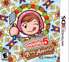 New Age Mama: Holiday Gift Guide - Cooking Mama 5: Bon Appétit Is Delicious on Nintendo 3DS
