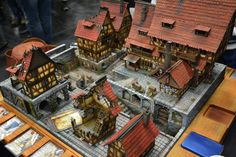 Medieval Houses, Medieval Town, Medieval Fantasy, Tabletop, Warhammer Terrain, Game Terrain, Steampunk House, Fantasy City, Wargaming Terrain