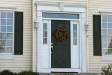 Related image House Trim, Door Molding, Colonial, Living Room Decor, Family Room, Garage Doors, Windows, Outdoor Decor, Interior Door