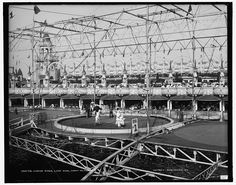 Circus rings, Luna Park, Coney Island, N.Y.; c. 1890-1910
