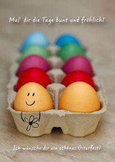 Osterkarten schreiben und gestalten - mit kostenlosen Vorlagen